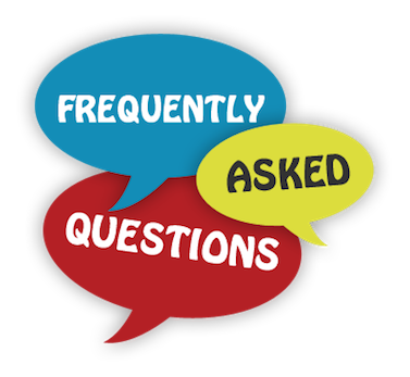 Picture of Frequently Asked Questions - This is an image of the words Frequently Asked Questions in quotes.